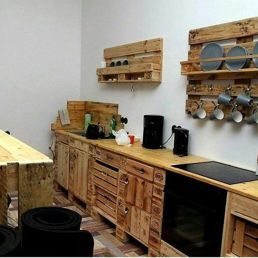 Pallet Furniture For Your Complete Home