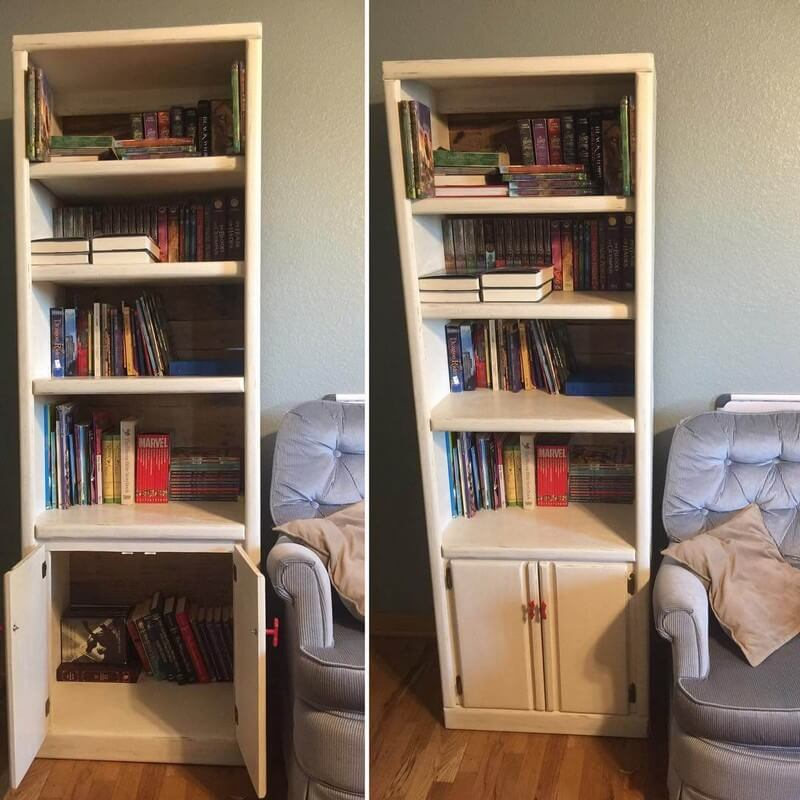 Pallet Bookshelf Plans on Sensod