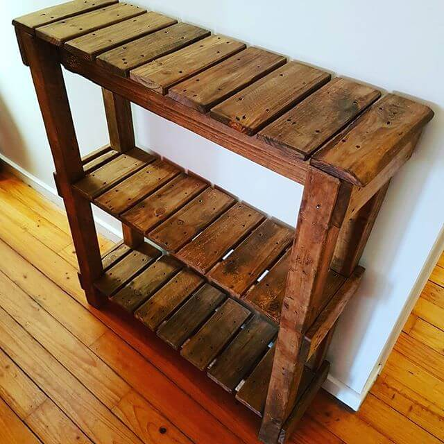 Simple and contemporary pallet racks