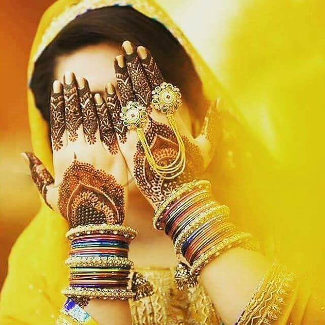 domb shaped mehndi design 2018