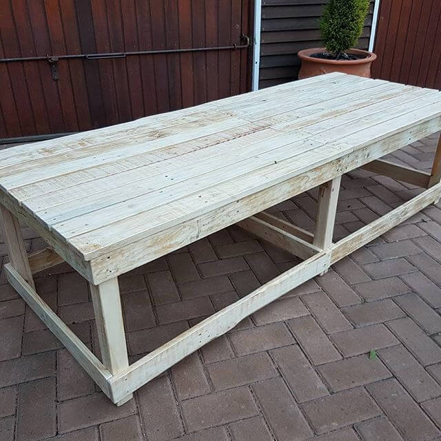 Giant size pallet tables