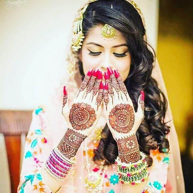 Mehndi designs for the bridals on sensod
