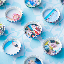 Photo Frames Bottle Caps