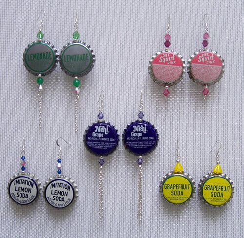 Waste Bottle Caps Ideas To Make Crafts