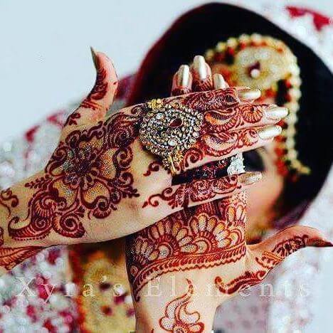 bridal mehndi designs 2018