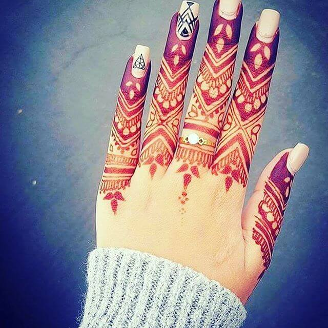 elegant feet mehndi designs