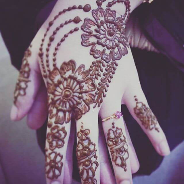 backhand mehndi designs 2018 latest