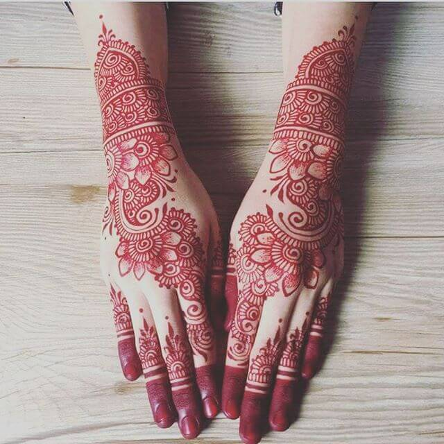 beautiful mehndi designs on special occasions