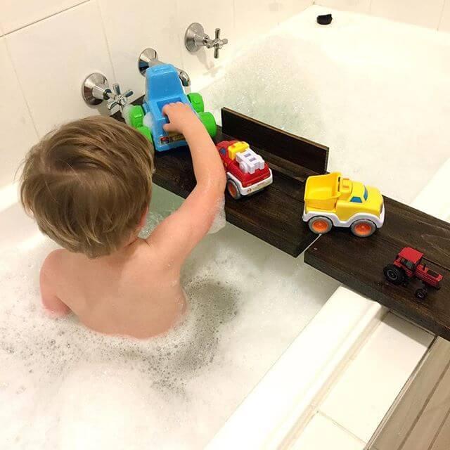pallet bathtub for kids
