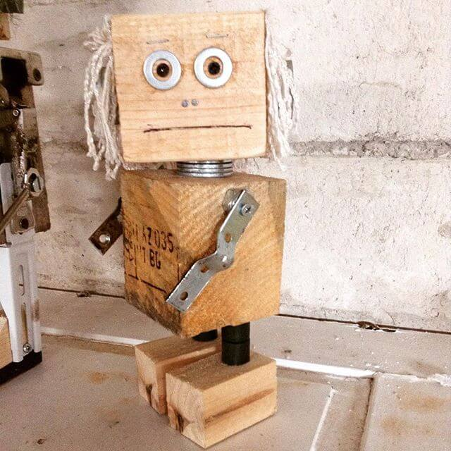 A big sized Pallet robot
