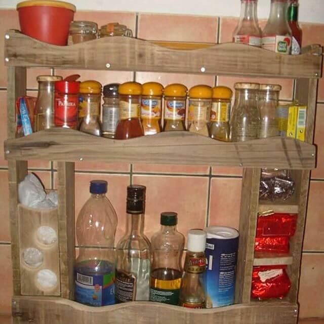 pallet rack for kitchen