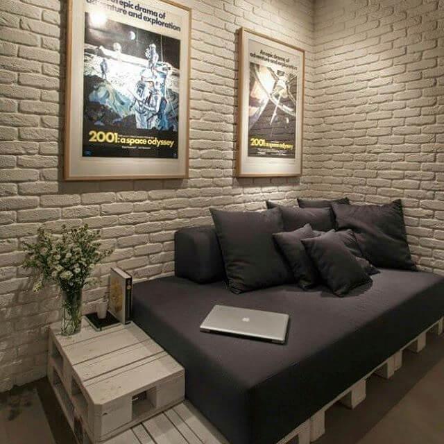 beautiful pallet lounge