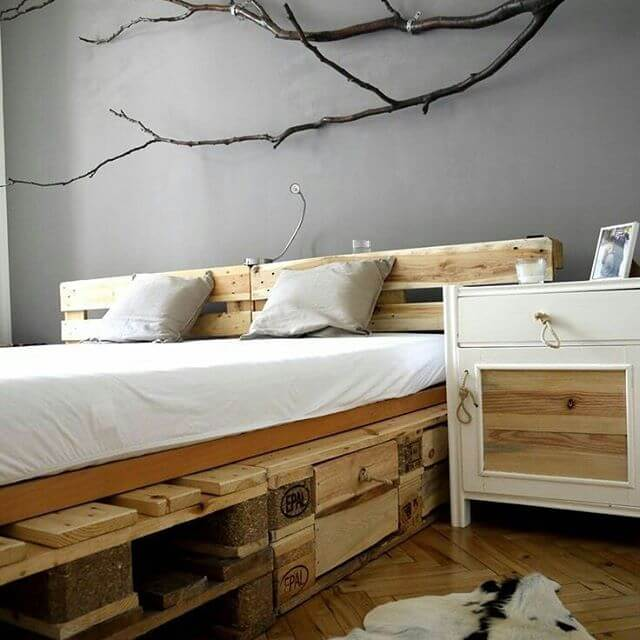 Pallet bed and other minor pallet projects