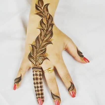 Simple BackHand Mehndi Designs 2018