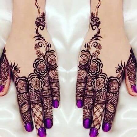 Simple both BackHand Mehndi Designs 2018