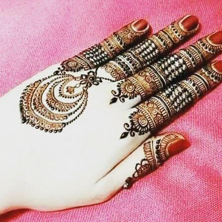 Simple One BackHand Mehndi Designs 2018