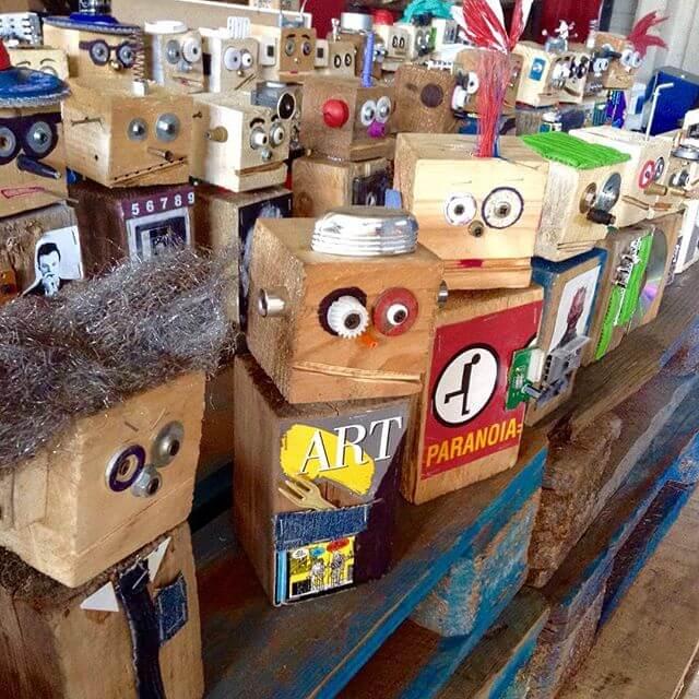 pallet robots utilization in technology