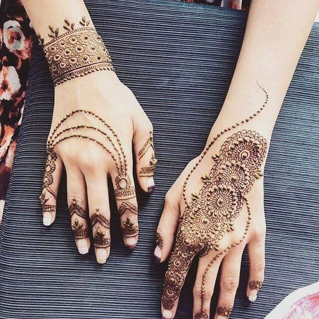 Trendy Mehndi Designs