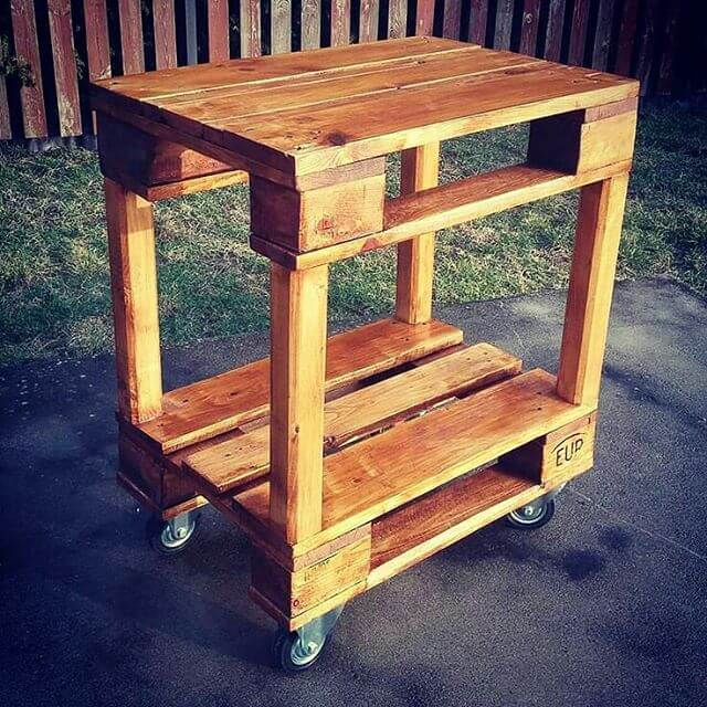 multi functional pallet table
