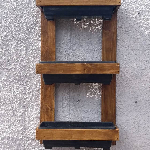 Various wall shelf ideas designed with the Wooden Pallet