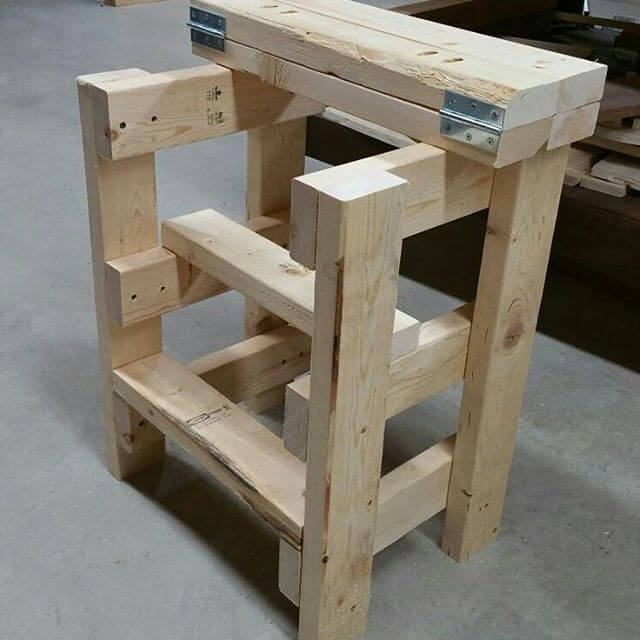 easy to make pallet project for outdoor