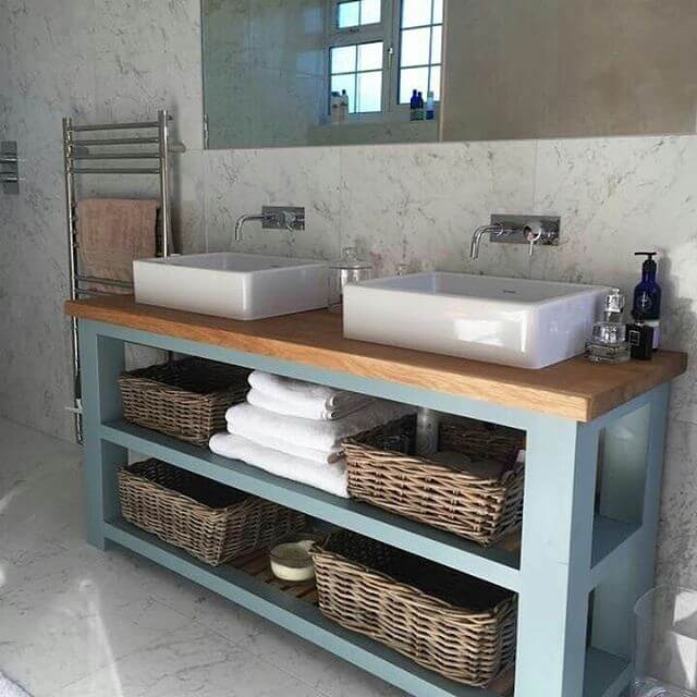 Kitchen Island From wooden Pallet