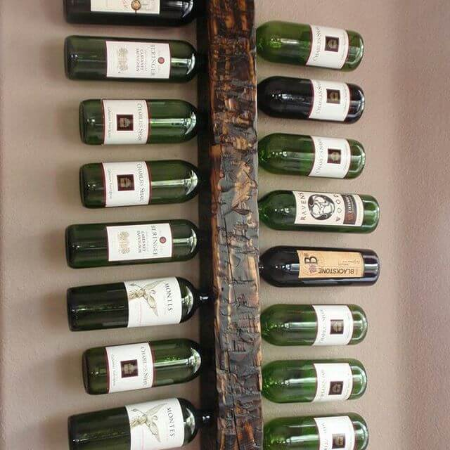 pallet wine rack for the beginners