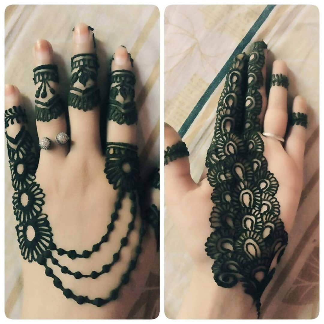 beautiful and catchy art of henna