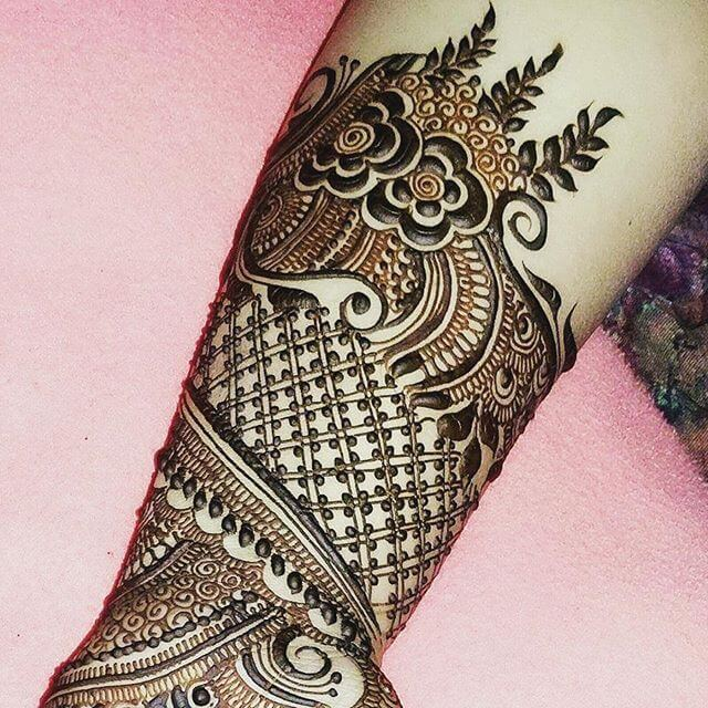 Arm Mehndi Design 2018