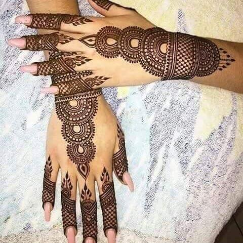 brainy mehandi design