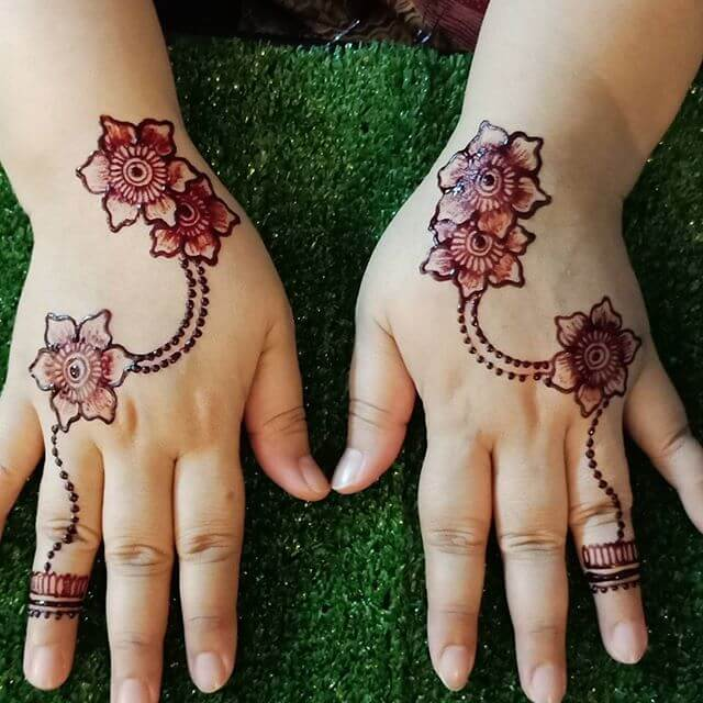 kids mehndi design