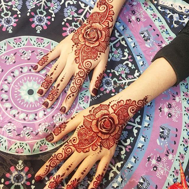 2018 latest design of Mehndi