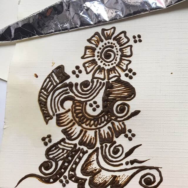 mehndi design for palm