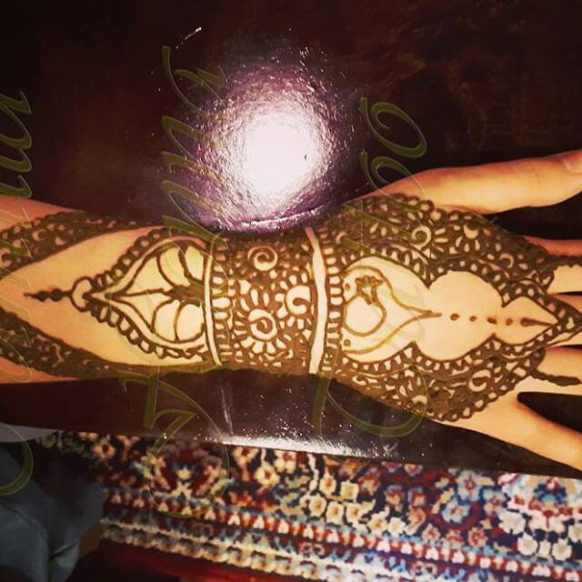 2018 latest henna design