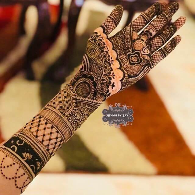 2018 bridal mehndi designs
