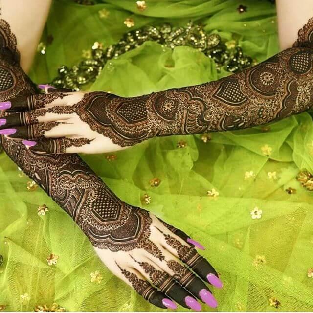 bridal mehdni design