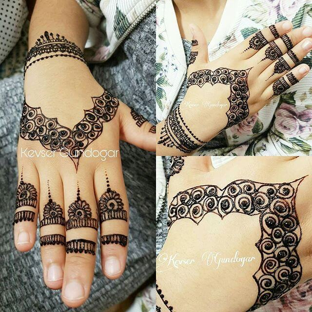 beautiful decent 2018 mehndi design