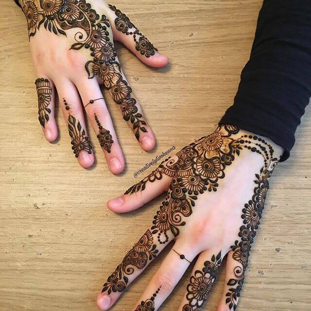 20 Beautful Henna Designs For Nikah: 40+ Mehndi Designs 2018 To Enhance The Beauty Of Your