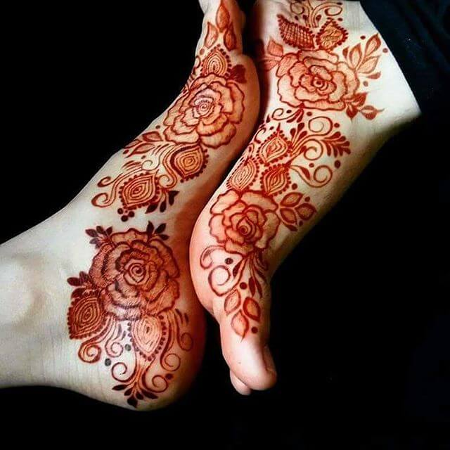 stunning and great art for mehndi