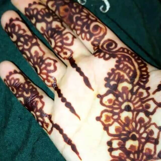 beautiful latest 2018 mehndi design