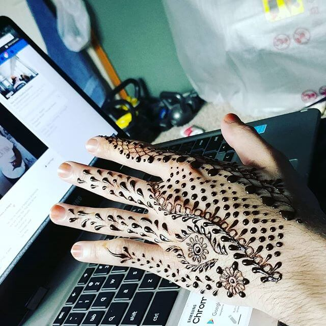 2018 latest mehndi design