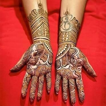 detailed full hands mehndi