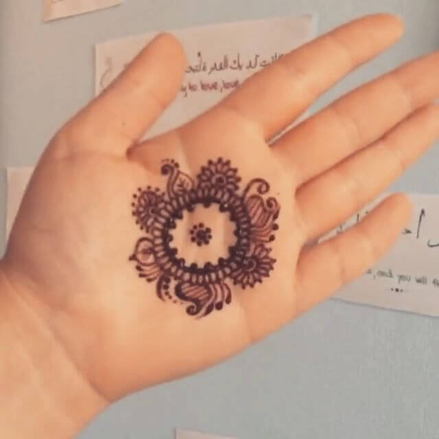 Collection Of Simple Mehndi Design For Beginners Sensod