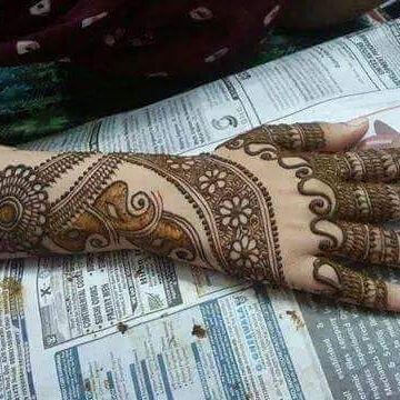mehandi trendy design