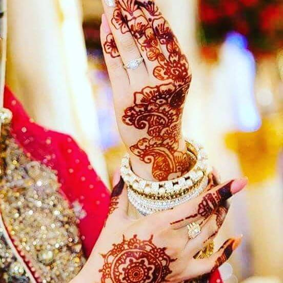 Bridal Latest Arabic Henna Designs For Hands 2018