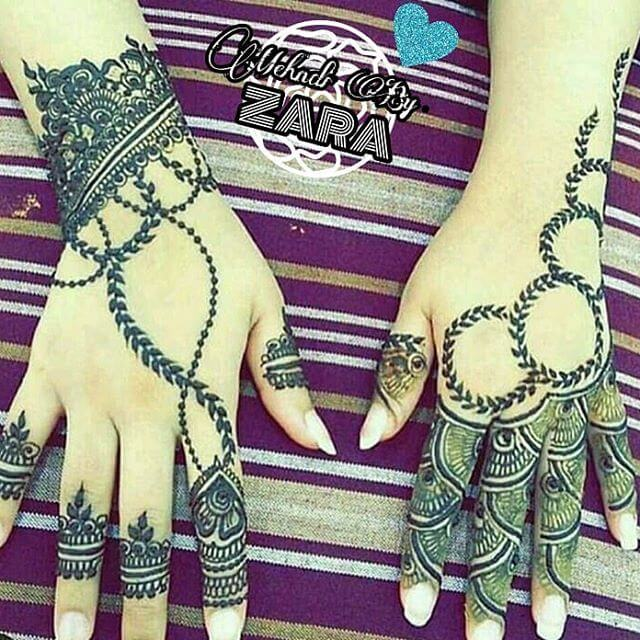 henna beautiful art
