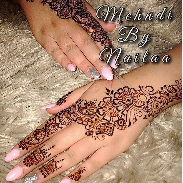back hand Mehndi idea
