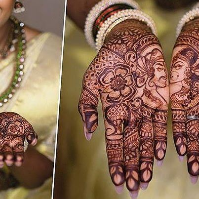 2018 bridal image of mehndi