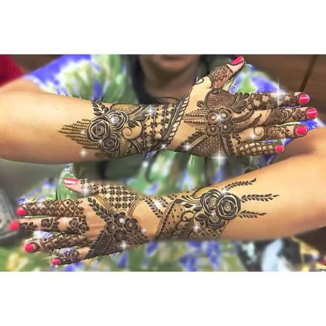 mehndi design for marriages