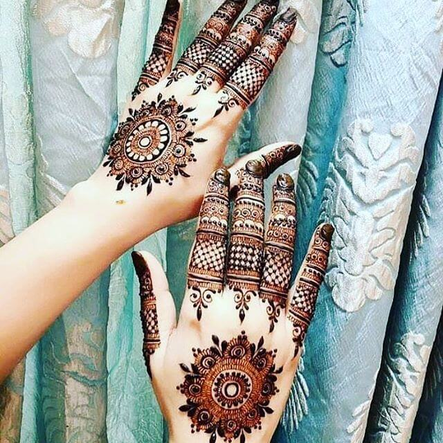 simple mehndi henna designs for hands